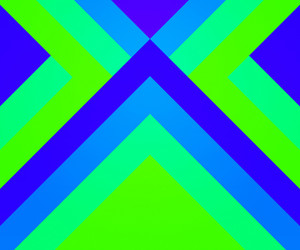Green Hipster Geometric Background