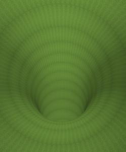 Green  Hypnotic Tunnel