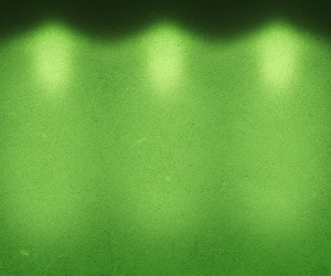Green Illuminated Wall