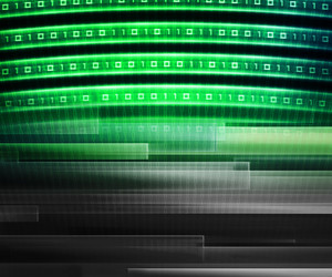 Green Information Technology Background Concept