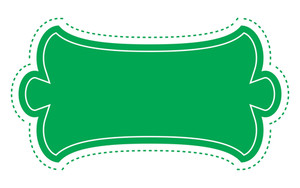 Green Label Banner