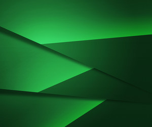 Green Layers Background