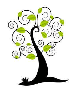Green Leaves Tree
