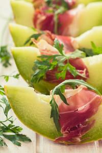 Green Melon And Prosciutto