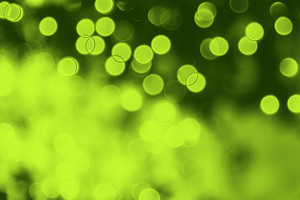 Green Nature Bokeh Backdrop