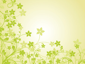Green Nature Pattern Background