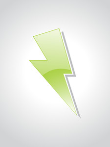 Green Object With Background