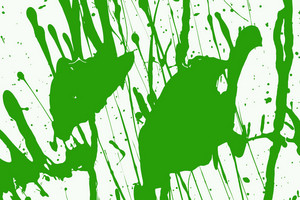 Green Paint Vector