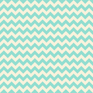 Green Pastel Chevron Pattern