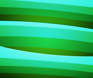 Green Retro Striped Background