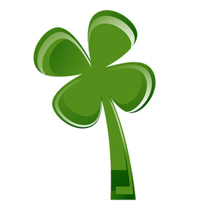 Green Shamrock Design