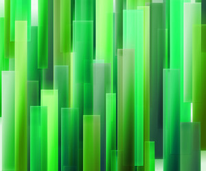 Green Strips Abstract Background