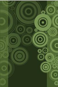 Green Vector Circles