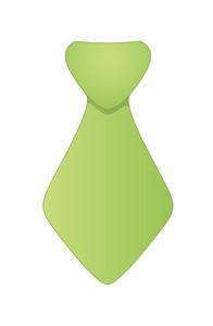 Green Vector Tie