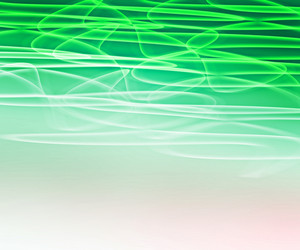 Green Web Abstract Background