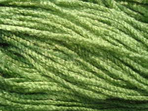 Green Wool Background