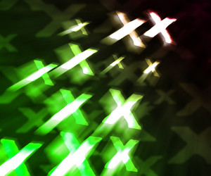 Green Xxx Abstract Background