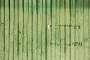 Green Zinc Background