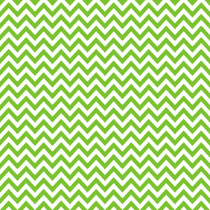 Green And White Chevron Pattern
