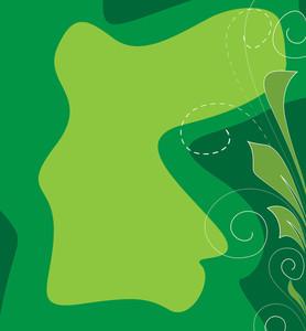 Greenish Vector Background