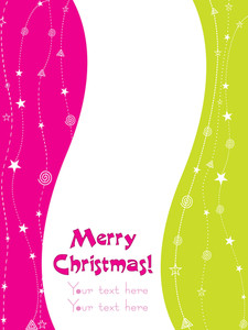 Greeting Card For Christmas Day