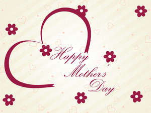 Greeting Card For Happy Mother's Day