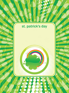 Greeting Card For St. Patrick's Day 17 March