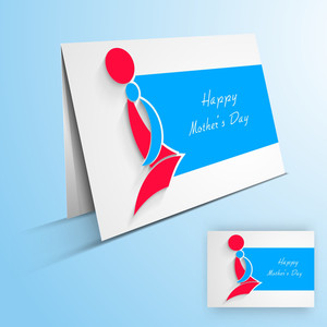 Greeting Card Or Gift Card With Text Happy Mother's Day