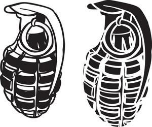 Grenade Vector Element