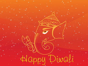 Gretting Card For Diwali