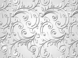 Grey Artistic Design Background