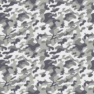 Grey Camouflage Pattern