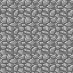 Grey Stone Minecraft Pattern