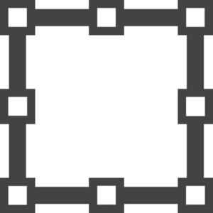 Grid 1 Glyph Icon