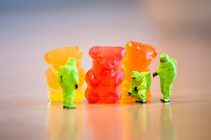 Group Of Gummi Bears