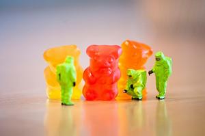 Group Of Gummi Bears