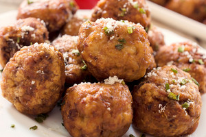 Group Of Meatballs