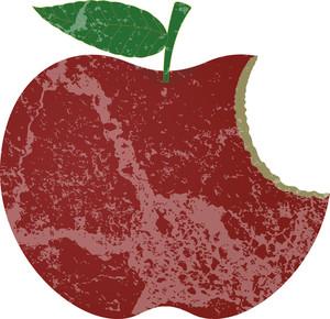 Grunge Apple Bite