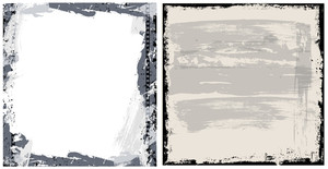 Grunge Background Vector Set