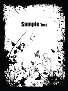 Grunge Background With Artistic Design
