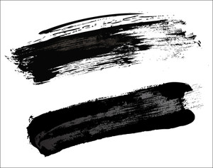 Grunge Black Strokes