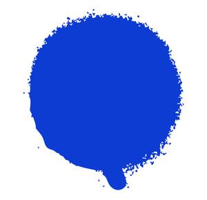 Grunge Blue Stain