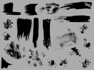Grunge Brush Strokes N Designs
