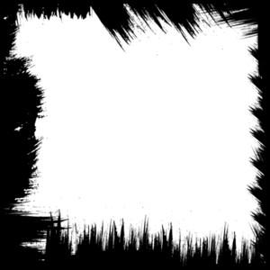 Grunge Brush Texture Frame