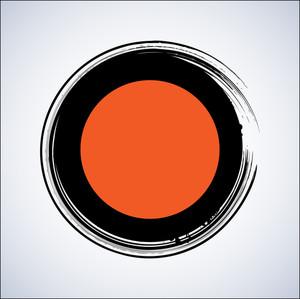 Grunge Circle Banner