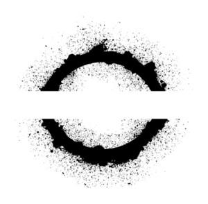 Grunge Circular Design Vector