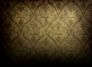 Grunge Damask Background Vector Illustration