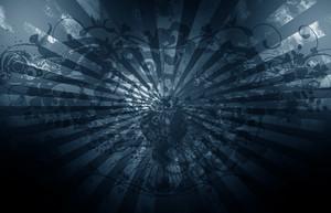 Grunge Dark Blue