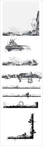 Grunge Frames Vector Designs