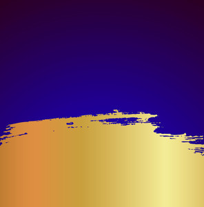 Grunge Golden Blot Background